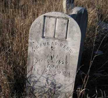 DARR, CONRAD - Saunders County, Nebraska | CONRAD DARR - Nebraska Gravestone Photos