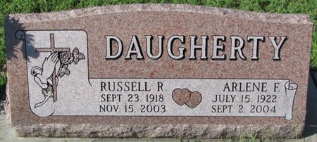 DAUGHERTY, RUSSELL R. - Saunders County, Nebraska | RUSSELL R. DAUGHERTY - Nebraska Gravestone Photos