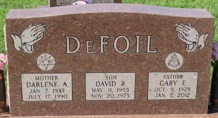 DEFOIL, DARLENE A. - Saunders County, Nebraska | DARLENE A. DEFOIL - Nebraska Gravestone Photos