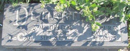 DEHART, MILDRED M. - Saunders County, Nebraska | MILDRED M. DEHART - Nebraska Gravestone Photos