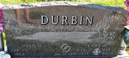 DURBIN, JOAN H. - Saunders County, Nebraska | JOAN H. DURBIN - Nebraska Gravestone Photos