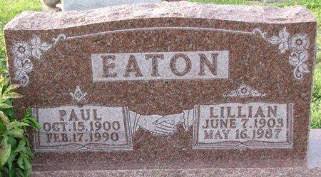 EATON, LILLIAN - Saunders County, Nebraska | LILLIAN EATON - Nebraska Gravestone Photos