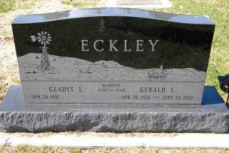 ECKLEY, GERALD L - Saunders County, Nebraska | GERALD L ECKLEY - Nebraska Gravestone Photos