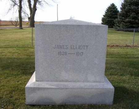 ELLIOTT, JAMES - Saunders County, Nebraska | JAMES ELLIOTT - Nebraska Gravestone Photos