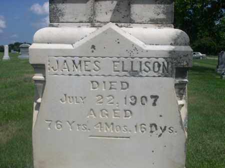 ELLISON, JAMES - Saunders County, Nebraska | JAMES ELLISON - Nebraska Gravestone Photos