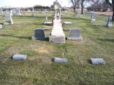ELLISON, JAMES, ISABELLE, ELLEN - Saunders County, Nebraska | JAMES, ISABELLE, ELLEN ELLISON - Nebraska Gravestone Photos