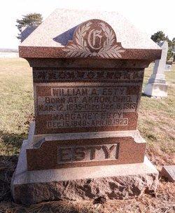 ESTY, WILLIAM ANDREW - Saunders County, Nebraska | WILLIAM ANDREW ESTY - Nebraska Gravestone Photos