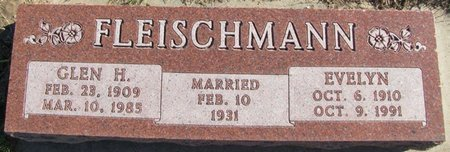 FLEISCHMANN, EVELYN - Saunders County, Nebraska | EVELYN FLEISCHMANN - Nebraska Gravestone Photos