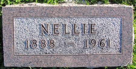 ODETTA FLETCHER, NELLIE - Saunders County, Nebraska | NELLIE ODETTA FLETCHER - Nebraska Gravestone Photos