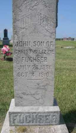FUCHSER, JOHN - Saunders County, Nebraska | JOHN FUCHSER - Nebraska Gravestone Photos