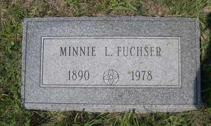 FUCHSER, MINNIE L. - Saunders County, Nebraska | MINNIE L. FUCHSER - Nebraska Gravestone Photos
