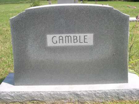 GAMBLE, FAMILY - Saunders County, Nebraska   FAMILY GAMBLE - Nebraska Gravestone Photos