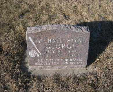 GEORGE, MICHAEL WAYNE - Saunders County, Nebraska | MICHAEL WAYNE GEORGE - Nebraska Gravestone Photos
