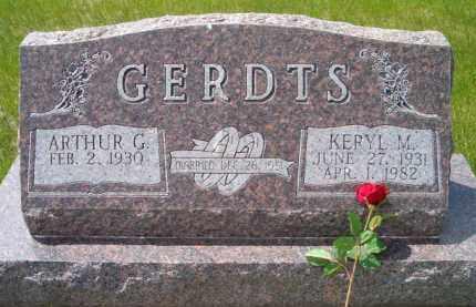 PEARSON GERDTS, KERYL MAE - Saunders County, Nebraska   KERYL MAE PEARSON GERDTS - Nebraska Gravestone Photos