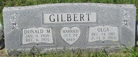 MACHACEK GILBERT, OLGA - Saunders County, Nebraska | OLGA MACHACEK GILBERT - Nebraska Gravestone Photos