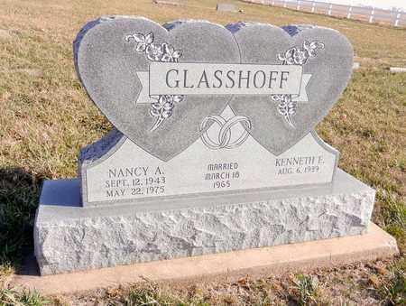 GLASSHOFF, NANCY A - Saunders County, Nebraska   NANCY A GLASSHOFF - Nebraska Gravestone Photos