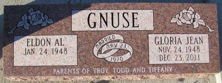 GNUSE, ELDON AL. - Saunders County, Nebraska | ELDON AL. GNUSE - Nebraska Gravestone Photos
