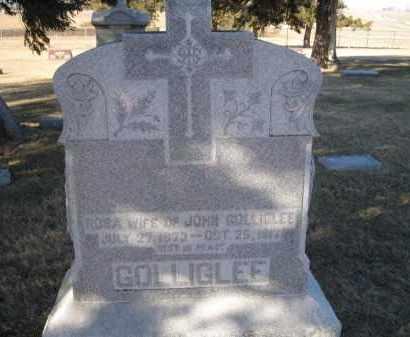 GOLLIGLEE, ROSA - Saunders County, Nebraska | ROSA GOLLIGLEE - Nebraska Gravestone Photos