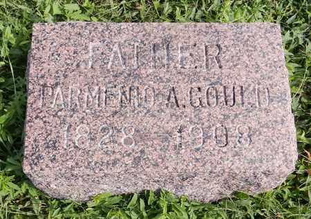 GOULD, PARMENIO A - Saunders County, Nebraska   PARMENIO A GOULD - Nebraska Gravestone Photos