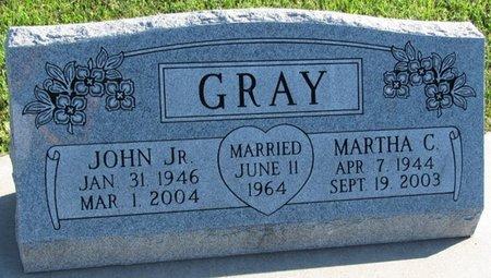 GRAY, JOHN JR. - Saunders County, Nebraska   JOHN JR. GRAY - Nebraska Gravestone Photos