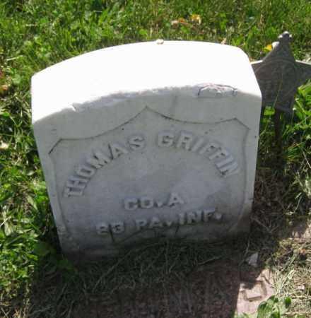 GRIFFIN, THOMAS - Saunders County, Nebraska | THOMAS GRIFFIN - Nebraska Gravestone Photos