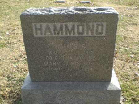 HAMMOND, MARY J - Saunders County, Nebraska | MARY J HAMMOND - Nebraska Gravestone Photos
