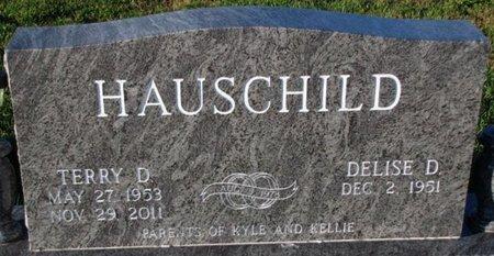HAUSCHILD, DELISE D. - Saunders County, Nebraska   DELISE D. HAUSCHILD - Nebraska Gravestone Photos