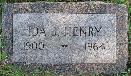 HENRY, IDA J. - Saunders County, Nebraska | IDA J. HENRY - Nebraska Gravestone Photos