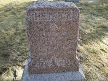 HETRICK, AGNES - Saunders County, Nebraska   AGNES HETRICK - Nebraska Gravestone Photos