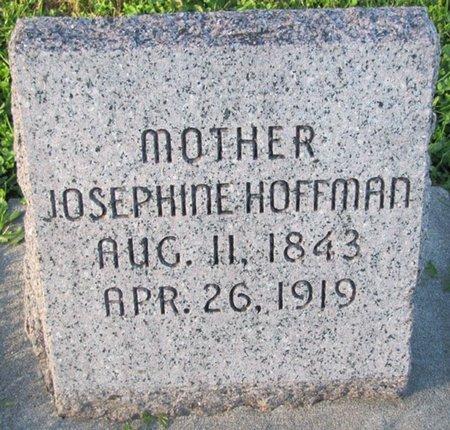 HOFFMAN, JOSEPHINE - Saunders County, Nebraska   JOSEPHINE HOFFMAN - Nebraska Gravestone Photos