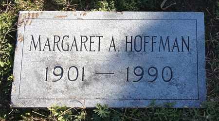 HOFFMAN, MARGARET A - Saunders County, Nebraska | MARGARET A HOFFMAN - Nebraska Gravestone Photos