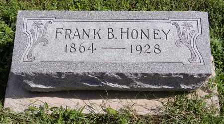 HONEY, FRANK B - Saunders County, Nebraska | FRANK B HONEY - Nebraska Gravestone Photos