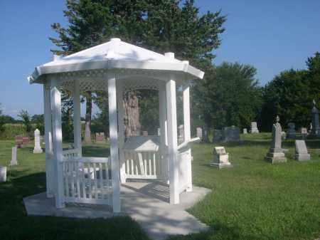 INDIAN MOUND CEMETERY, GAZEBO IN - Saunders County, Nebraska | GAZEBO IN INDIAN MOUND CEMETERY - Nebraska Gravestone Photos