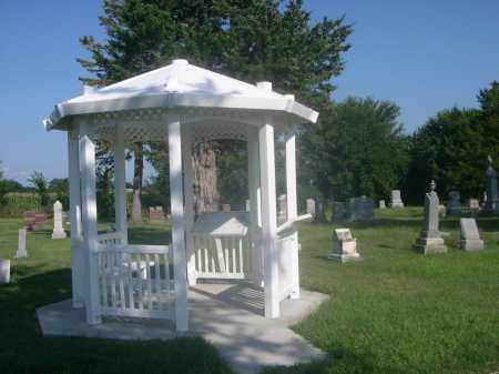 INDIAN MOUND CEMETERY, GAZEBO IN - Saunders County, Nebraska | GAZEBO IN INDIAN MOUND CEMETERY - Nebraska Gravestone Photos