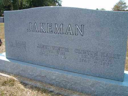 JAKEMAN, JANET - Saunders County, Nebraska | JANET JAKEMAN - Nebraska Gravestone Photos