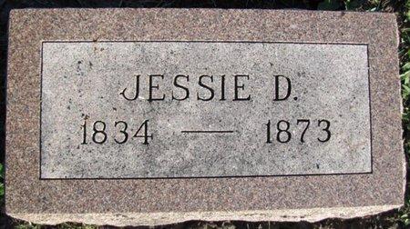 JARDINE, JESSIE D. - Saunders County, Nebraska | JESSIE D. JARDINE - Nebraska Gravestone Photos