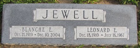 JEWELL, BLANCHE E. - Saunders County, Nebraska | BLANCHE E. JEWELL - Nebraska Gravestone Photos