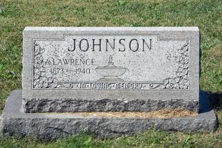 JOHNSON, A. LAWRENCE - Saunders County, Nebraska | A. LAWRENCE JOHNSON - Nebraska Gravestone Photos