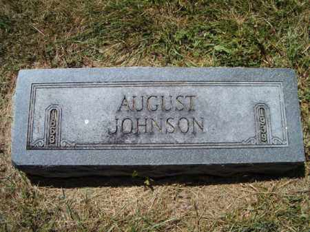 JOHNSON, AUGUST - Saunders County, Nebraska | AUGUST JOHNSON - Nebraska Gravestone Photos