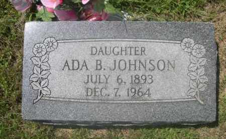 JOHNSON, ADA B. - Saunders County, Nebraska | ADA B. JOHNSON - Nebraska Gravestone Photos