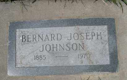 JOHNSON, BERNARD JOSEPH - Saunders County, Nebraska | BERNARD JOSEPH JOHNSON - Nebraska Gravestone Photos