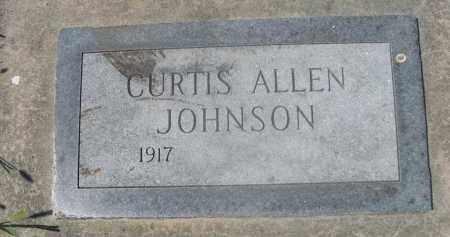 JOHNSON, CURTIS ALLEN - Saunders County, Nebraska | CURTIS ALLEN JOHNSON - Nebraska Gravestone Photos