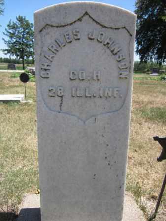 JOHNSON, CHARLES - Saunders County, Nebraska | CHARLES JOHNSON - Nebraska Gravestone Photos