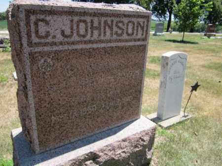 JOHNSON, CHARLES O. - Saunders County, Nebraska | CHARLES O. JOHNSON - Nebraska Gravestone Photos