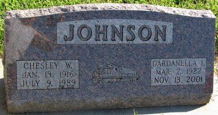 WASHBURN JOHNSON, DARDANELLA I. - Saunders County, Nebraska | DARDANELLA I. WASHBURN JOHNSON - Nebraska Gravestone Photos