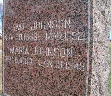JOHNSON, EMIL - Saunders County, Nebraska | EMIL JOHNSON - Nebraska Gravestone Photos