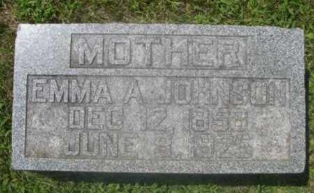 JOHNSON, EMMA A. - Saunders County, Nebraska | EMMA A. JOHNSON - Nebraska Gravestone Photos