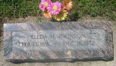 JOHNSON, ELEDA H. - Saunders County, Nebraska | ELEDA H. JOHNSON - Nebraska Gravestone Photos