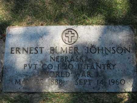 JOHNSON, ERNEST ELMER (MILITARY MARKER) - Saunders County, Nebraska | ERNEST ELMER (MILITARY MARKER) JOHNSON - Nebraska Gravestone Photos