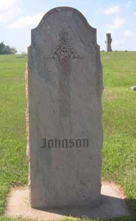 JOHNSON, FAMILY - Saunders County, Nebraska | FAMILY JOHNSON - Nebraska Gravestone Photos